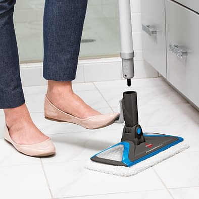 How to Clean Floor Tile Grout with Steam 3