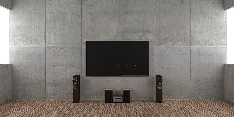 install a music system to make your home lively