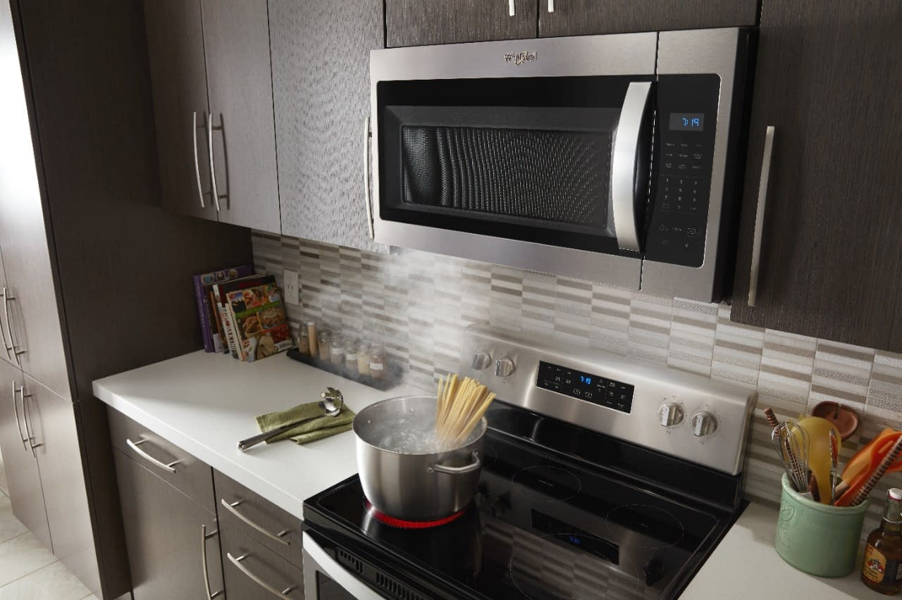 How to Vent a Microwave on an Interior Wall 1