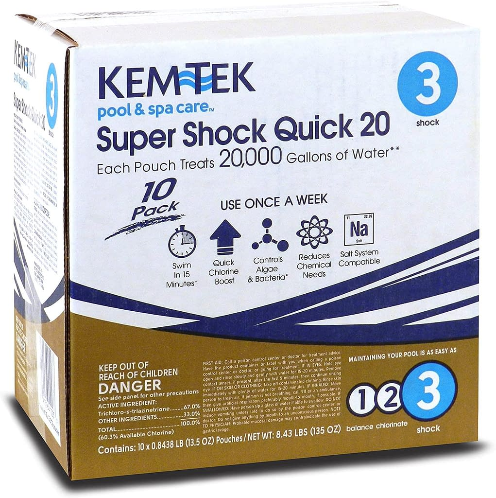 Best Pool Shock and Buying Guide 21