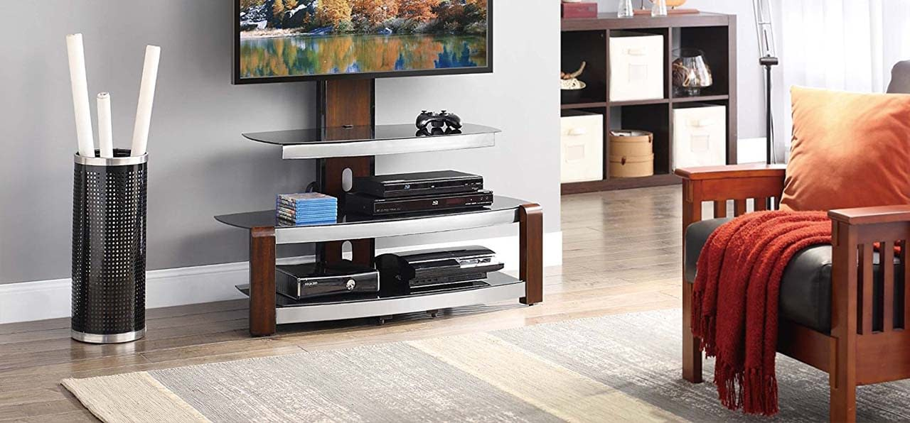 The 5 Best TV Stands In 2018: Reviews & Buying Guide
