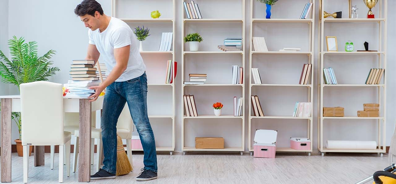 how to declutter home