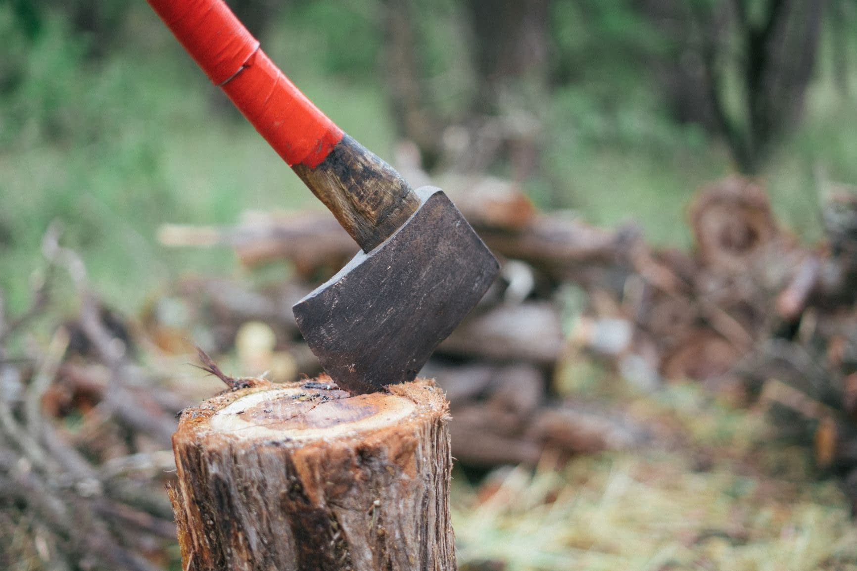 How to cut wood without saw