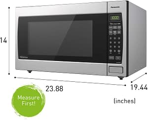 Panasonic NN-SN966S Review - A great microwave countertop oven? 7