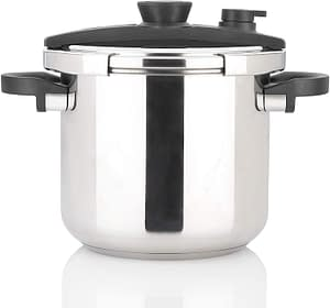 Fagor Pressure Cooker Review: Fagor EzLock 7.4 Quart Stainless Steel Pressure Cooker 3