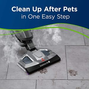 Bissell Symphony Review - The Pet Steam Mop Vacuum Cleaner 5